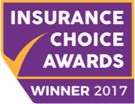 Insurance Choice Awards 2017 Winner Badge