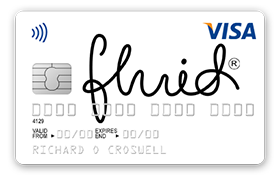Fluid Credit Card Logo