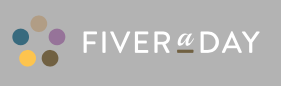 Fiver a Day logo