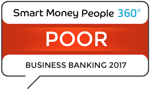 Poor Business Banking Rating