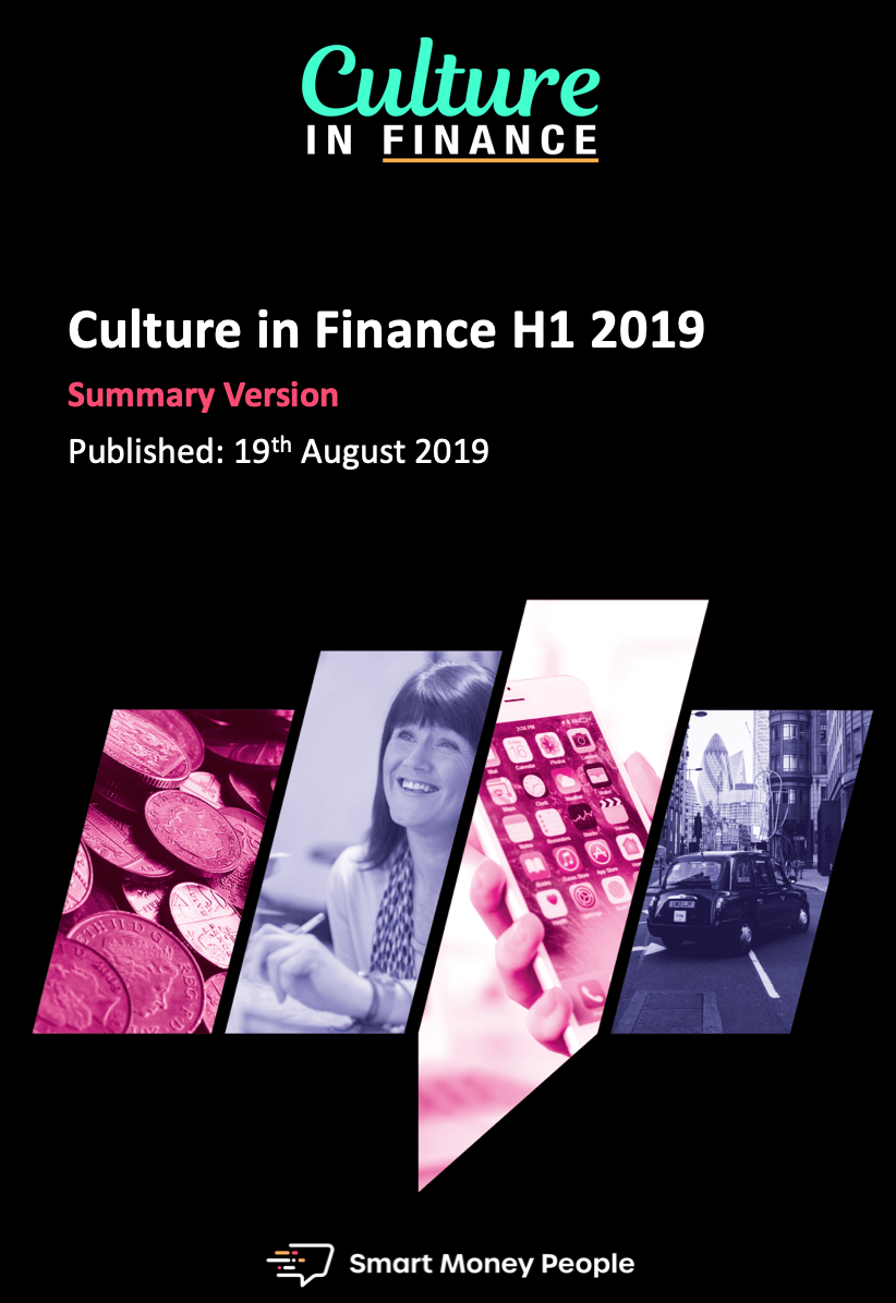 Culture of Finance H1 2019 Report