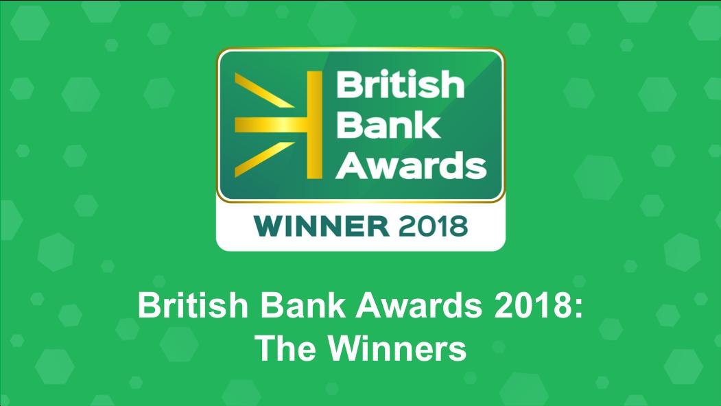 british bank awards 2018 winners